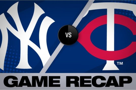 Baseball match complet: Yankees vs Twins